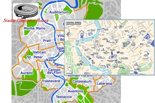 Stadio Olimpico, Roma map.jpg